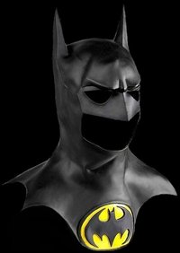 Batman mask cowel and emblem