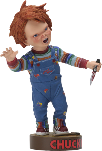 Chucky doll figure Head Knocker
