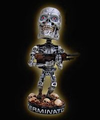 Terminator headknocker - Endoskeleton