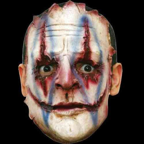 Gory latex horror mask (no.4) - Halloween