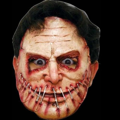 Gory latex horror mask (no.9) Halloween