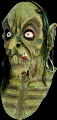 The bog witch horror mask - Halloween