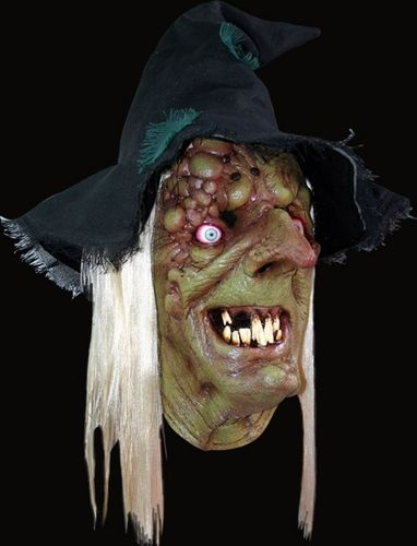 Hag witch horror mask - Halloween
