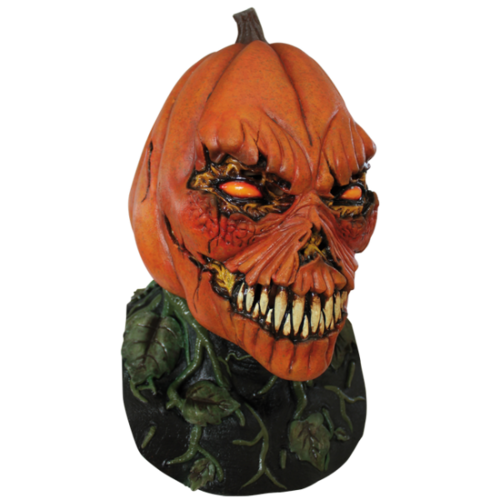 Pumpkin head horror mask
