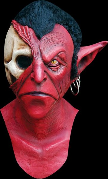 Iblis le diable luxe masque de latex