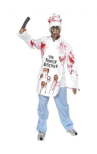 Bloody Chef costume with apron