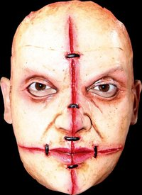 Gory latex horror mask no.14 - Halloween