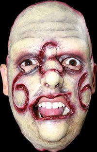 Gory latex horror mask no.15 - Halloween