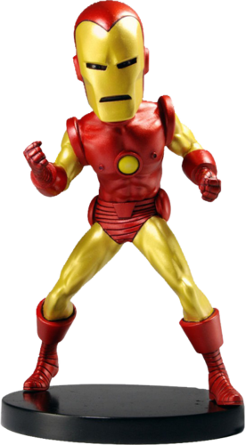 Avengers Movie - Iron man Battente Resina testa.