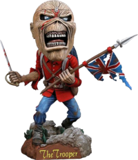 Iron maiden heurtoir de tête Eddie - The Trooper