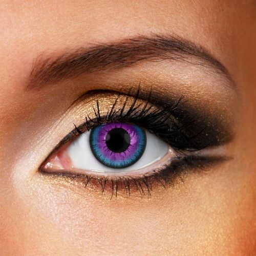 Violet contact lenses - Pair