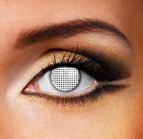 Mesh contact lenses - Pair
