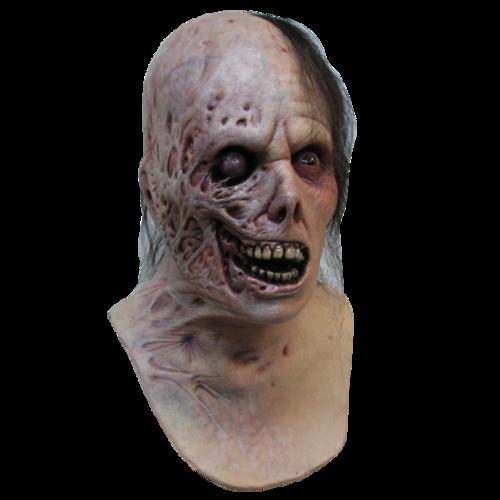 Realistic Scary Halloween Masks.Burned Horror Halloween Mask