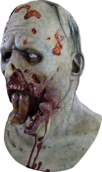 Jaw drop Zombie horror mask - Halloween