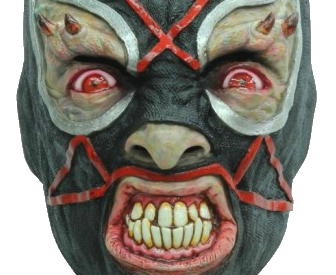Mask of satan horror mask