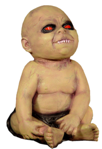 Possessed baby large animated prop