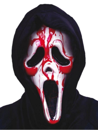 Licenciado máscara sangrado Scream