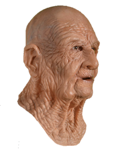 The Elder Realistic old man mask  - Full head mask