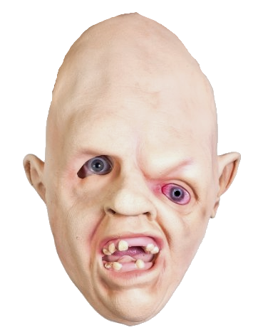 Goonies style Sloth mask