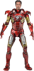 IRON MAN Battle damaged 1/4 figure