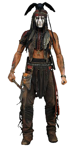 The lone ranger TONTO 1/4 Scale figure