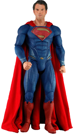Superman Man of Steel 1/4 di formato action figure