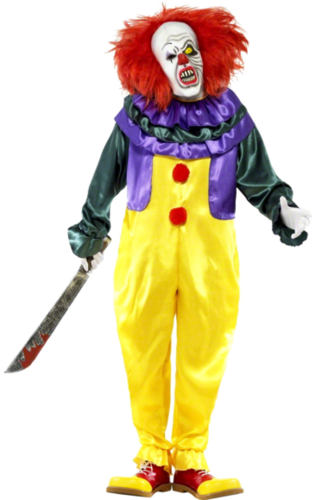 It the Creepy Clown Costume