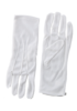 One pair of Adult white gloves