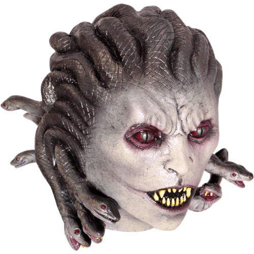 Gorgon medusa latex horror mask