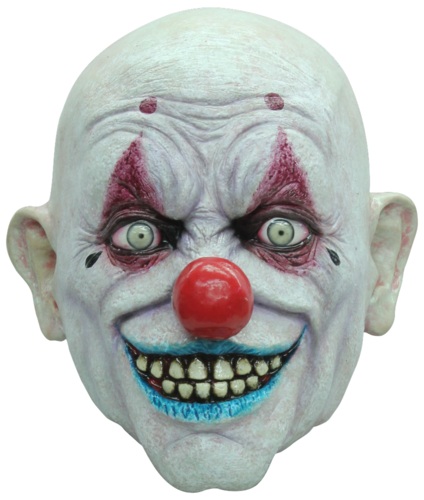 Máscara del horror clown receptor Niño