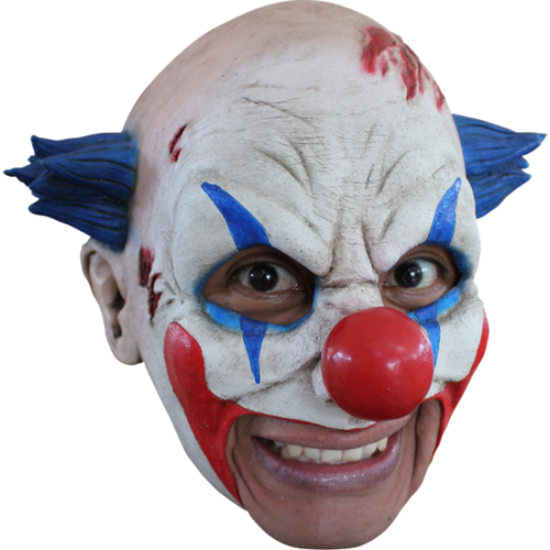 Chin strap horror Clown mask