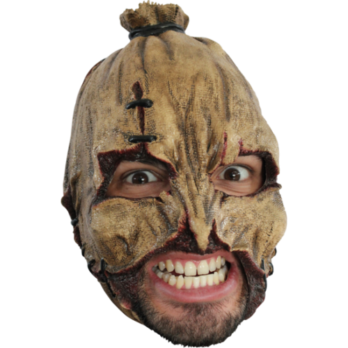 Pumpkin chin strap horror mask - Halloween