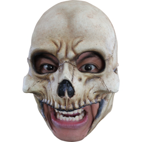 Skull chin strap horror mask