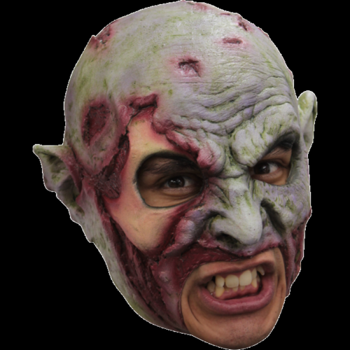 Zombie chin strap horror mask - Halloween chin strap mask