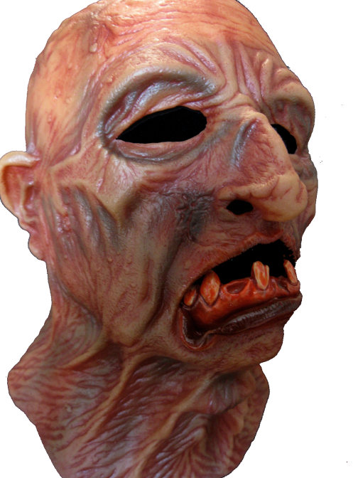 Dead zombie mask - Freaking dead super soft zombie horror mask