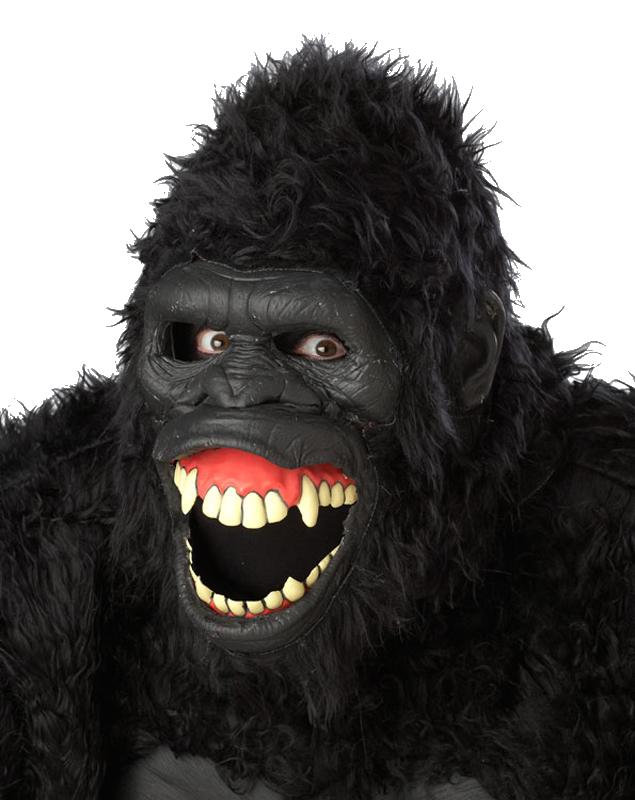 Gorilla Mouth Gorilla ape realistic ...