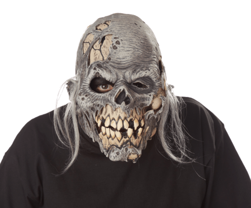 riss vor der Mask - Moving Mund - Halloween maske