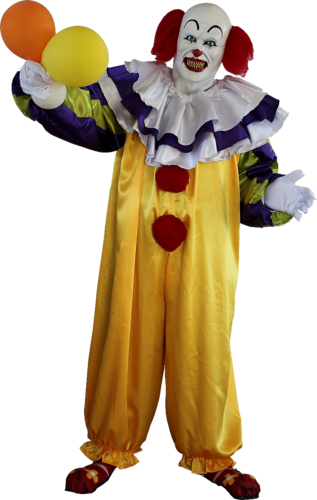 Pennywise the It clown costume only