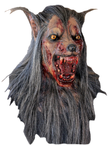 American werewolf large horror mask - Halloween