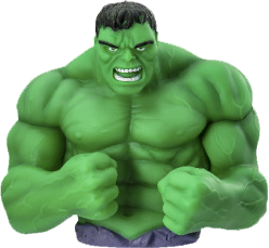 Marvel avengers bust bank - The Hulk