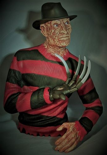 Freddy Krueger bust bank -  Nightmare elm st