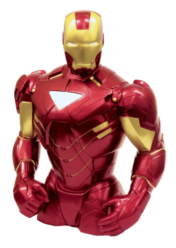 Marvel Avengers buste banque - Iron man