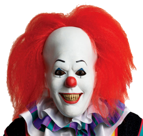 Pennywise the It clown horror mask