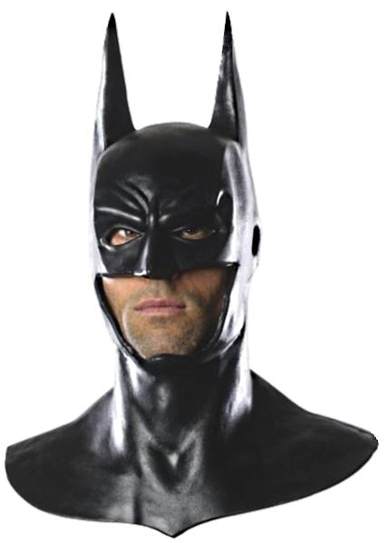 arkham batman masque t te compl te avec cowel. Black Bedroom Furniture Sets. Home Design Ideas