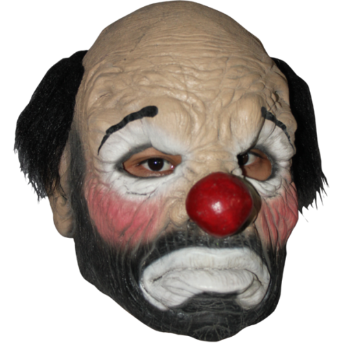 Hobo the clown horror mask