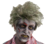 Short mens realistic zombie wig