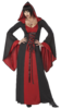 Deluxe Hooded Robe RED