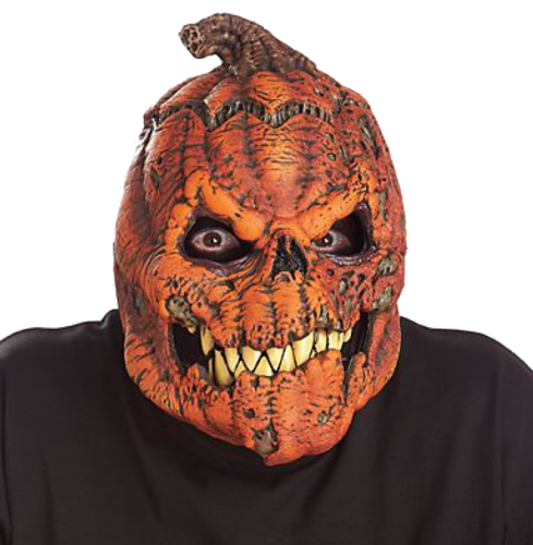Pumpkin Moving mouth mask - Halloween