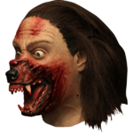 Man Wolf transform horror mask
