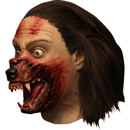 Wolf man Werewolf Horror mask